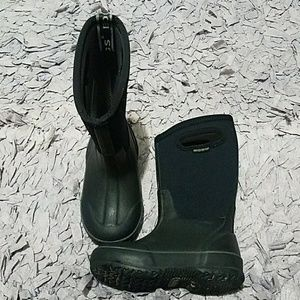Black BOGS High Handles Insulated Rain Snow Boots